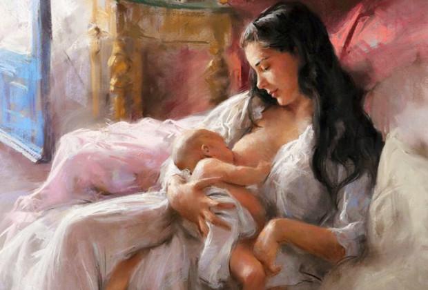 Естественное-родительство кормление-грудью