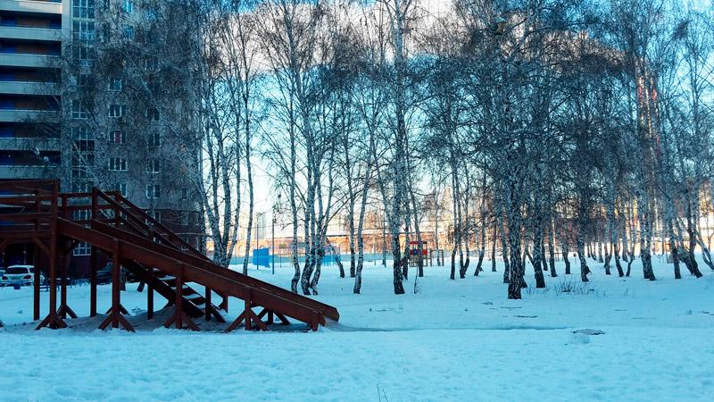 Омский-двор