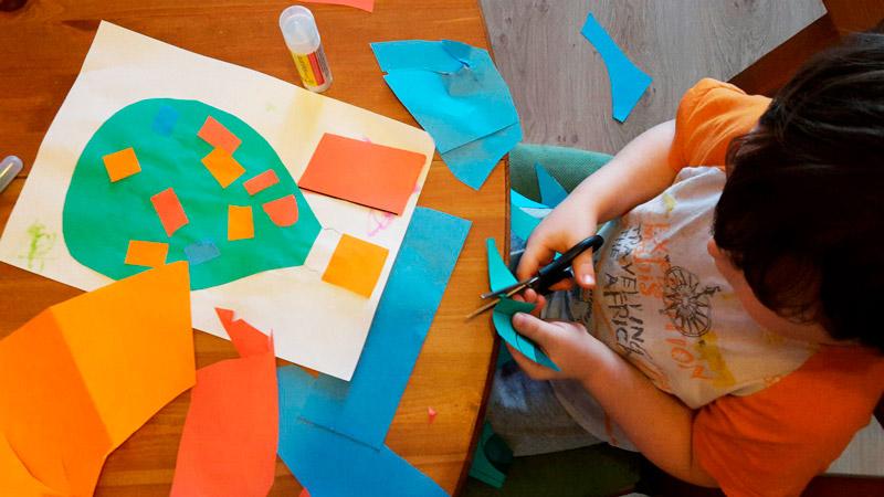 Творческие занятия с детьми дома