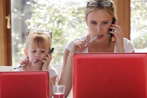Дети копируют поведение родителей