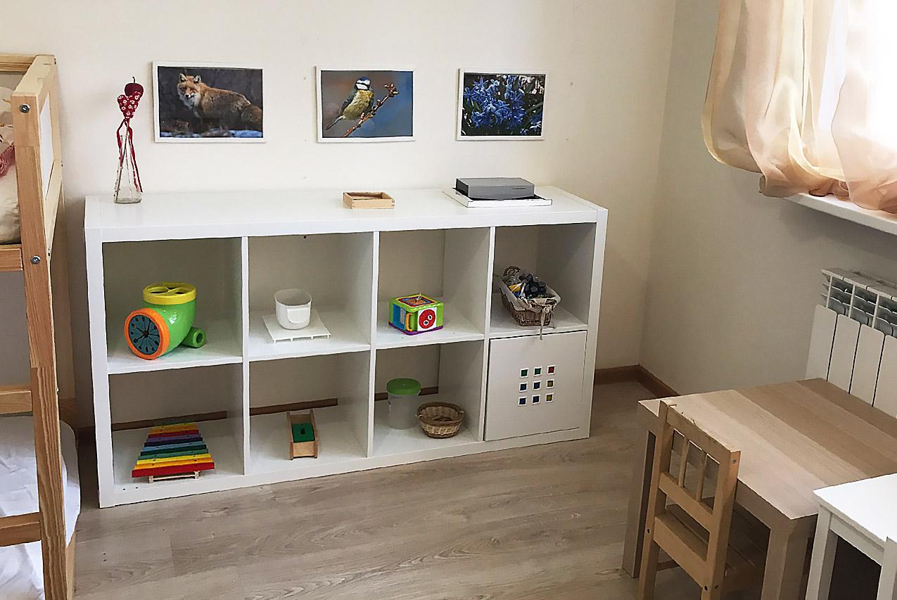 Как организовать игровое пространство малышей