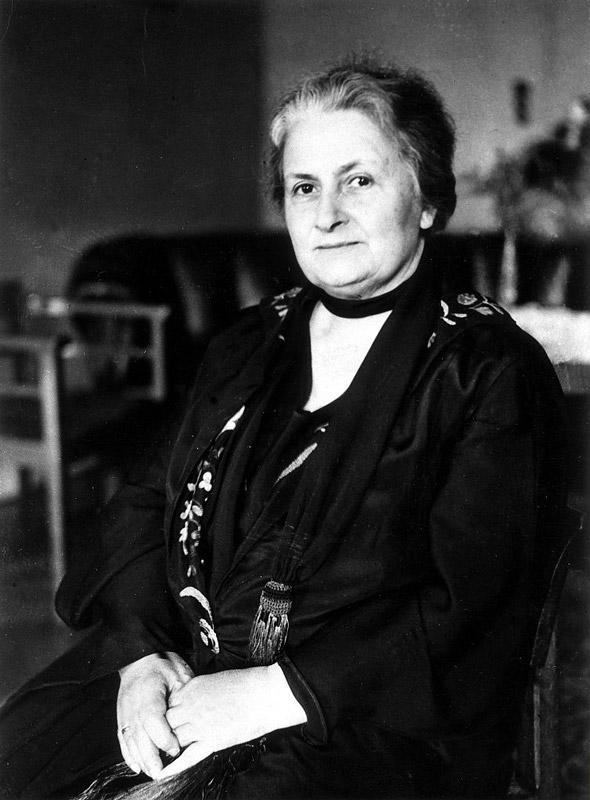 Мария Монтессори, создательница Монтессори-метода