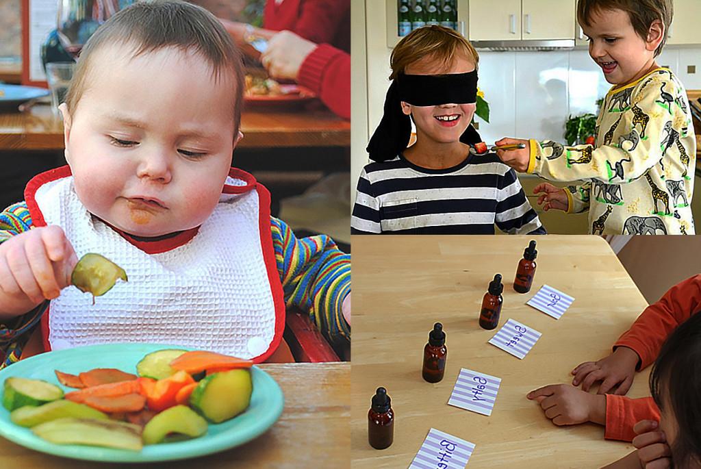 Материалы для развития обоняния и вкуса детей