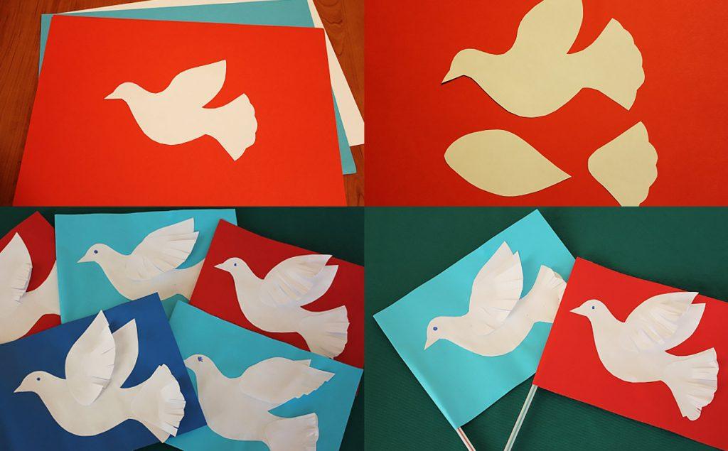 Голуби-мира