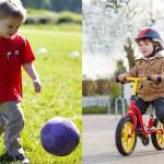 Как развиваются движения ребёнка от года до шести лет