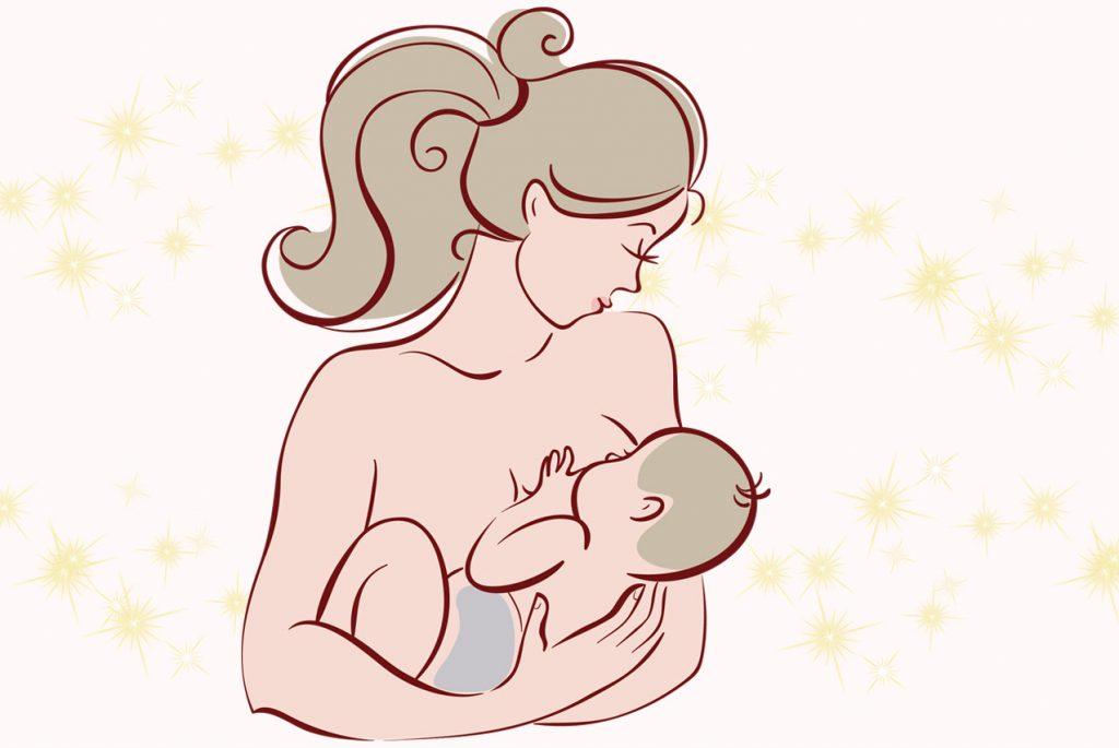 Как кормить грудью новорождённого