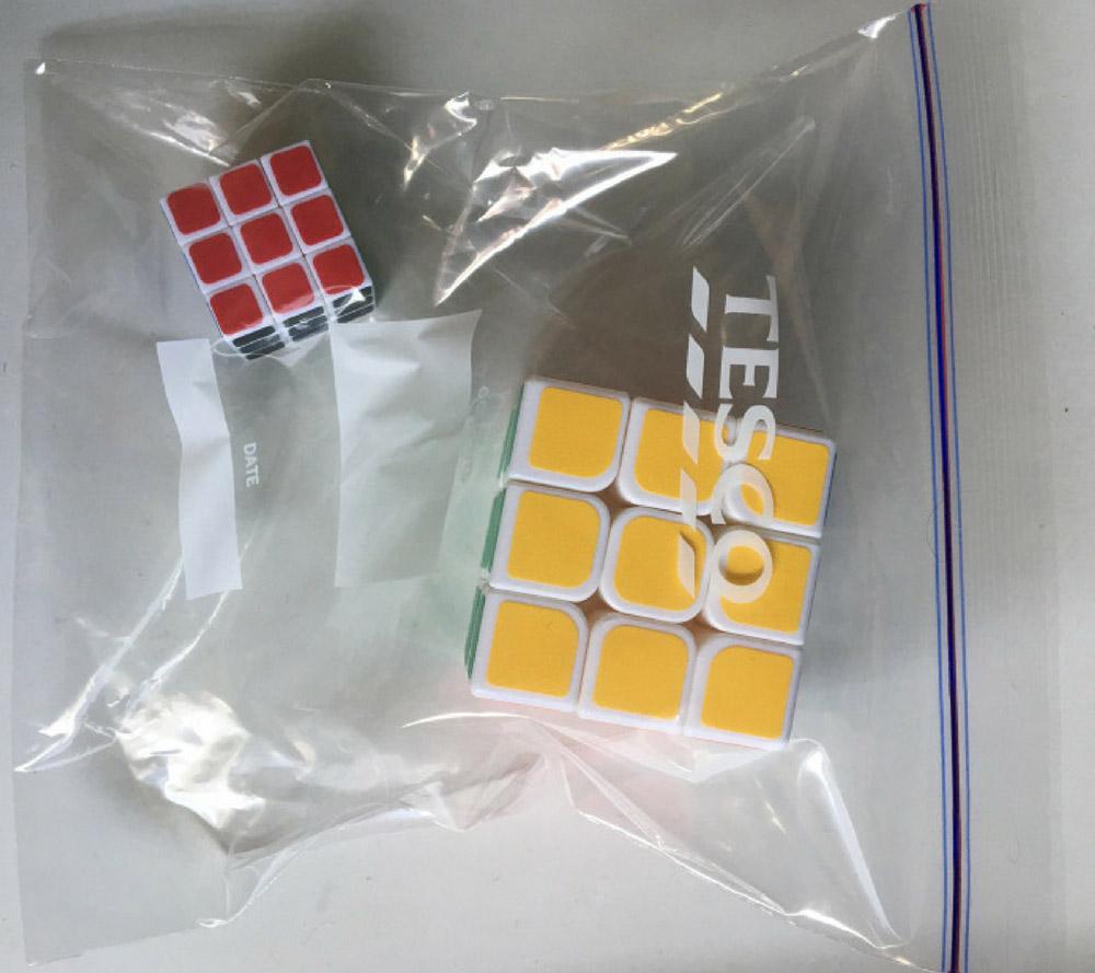 Кубик рубика в дорогу