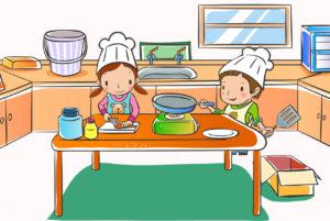 Готовим с детьми яблочные розочки по рецепту