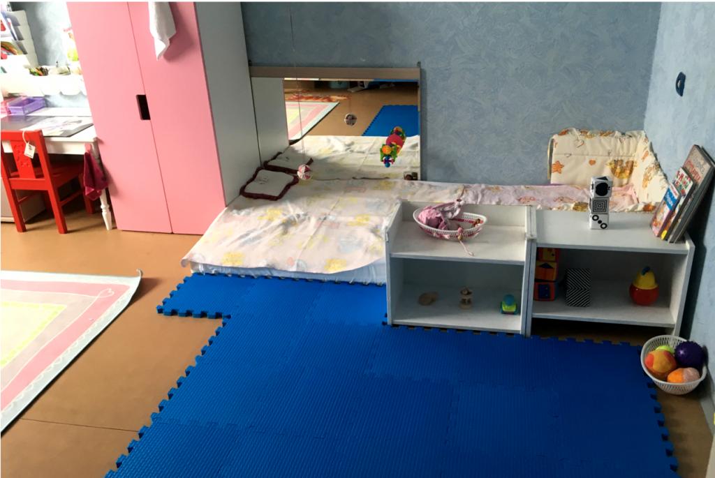 Монтессори-пространство для двух детей разного возраста