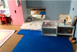 Комната для двух детей по Монтессори