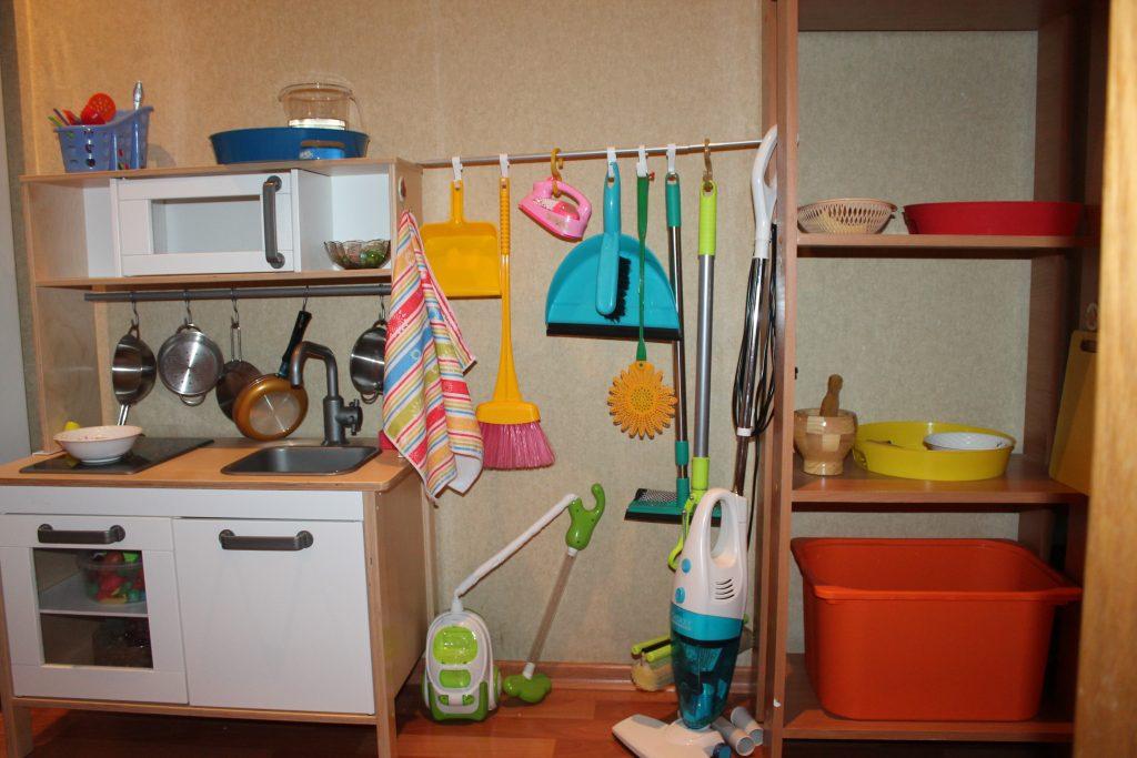 Инструменты Валеры для уборки