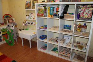 Комната по Монтессори для ребёнка 4 лет