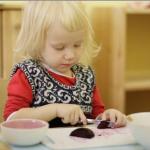 Какие упражнения практической жизни можно дать ребёнку