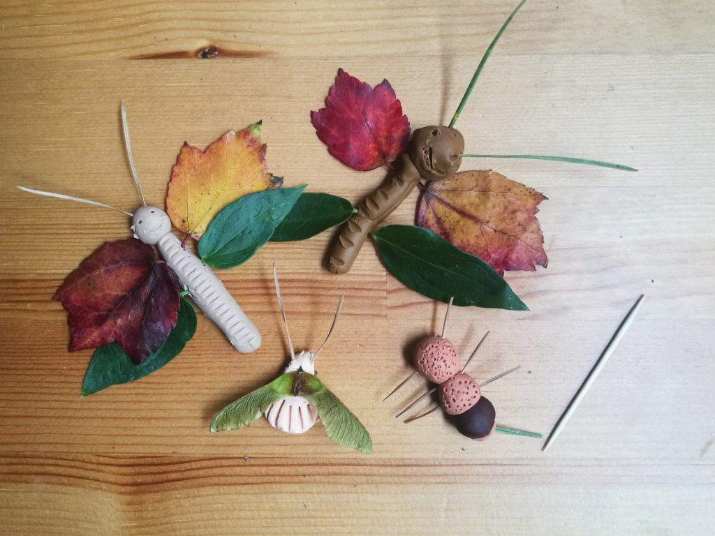 Насекомые из даров осени