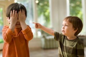 детский конфликт