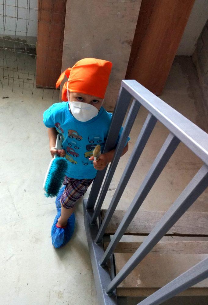 Комплект рабочей одежды для ребёнка