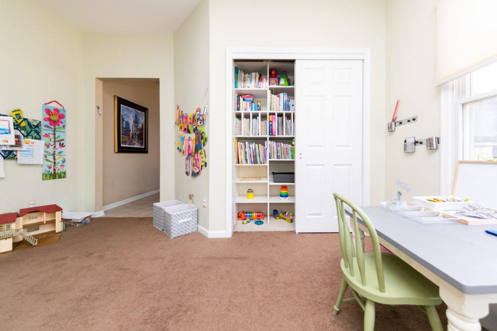 Детская комната по Монтессори готова