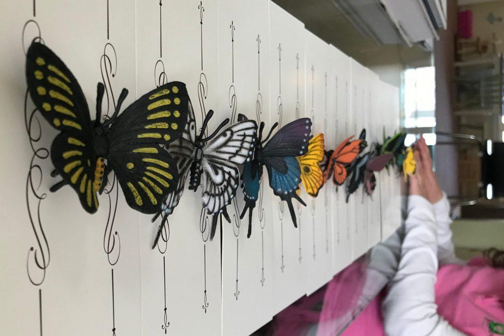 Поделки бабочек ребёнка