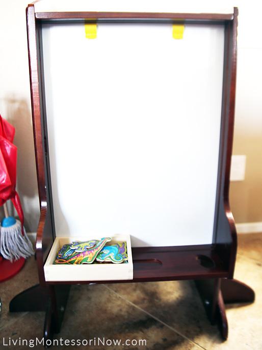Мольберт для творческих занятий ребёнка