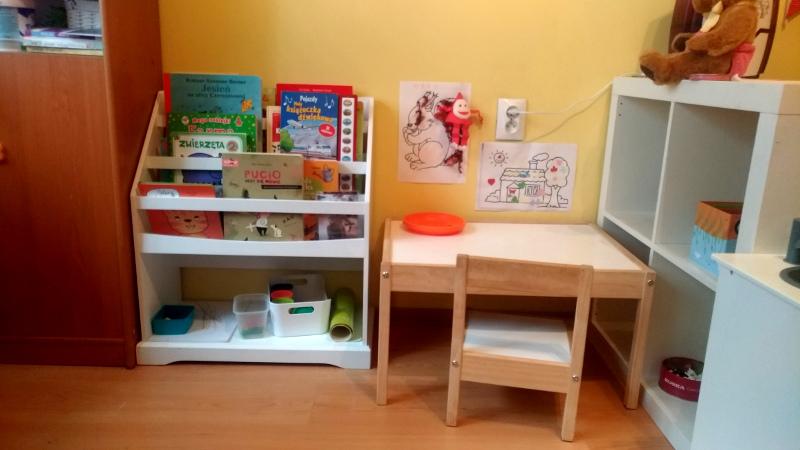 игровой уголок для ребёнка двух лет