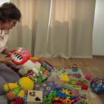 Наводим порядок в детской комнате, чтобы ребёнок играл сам