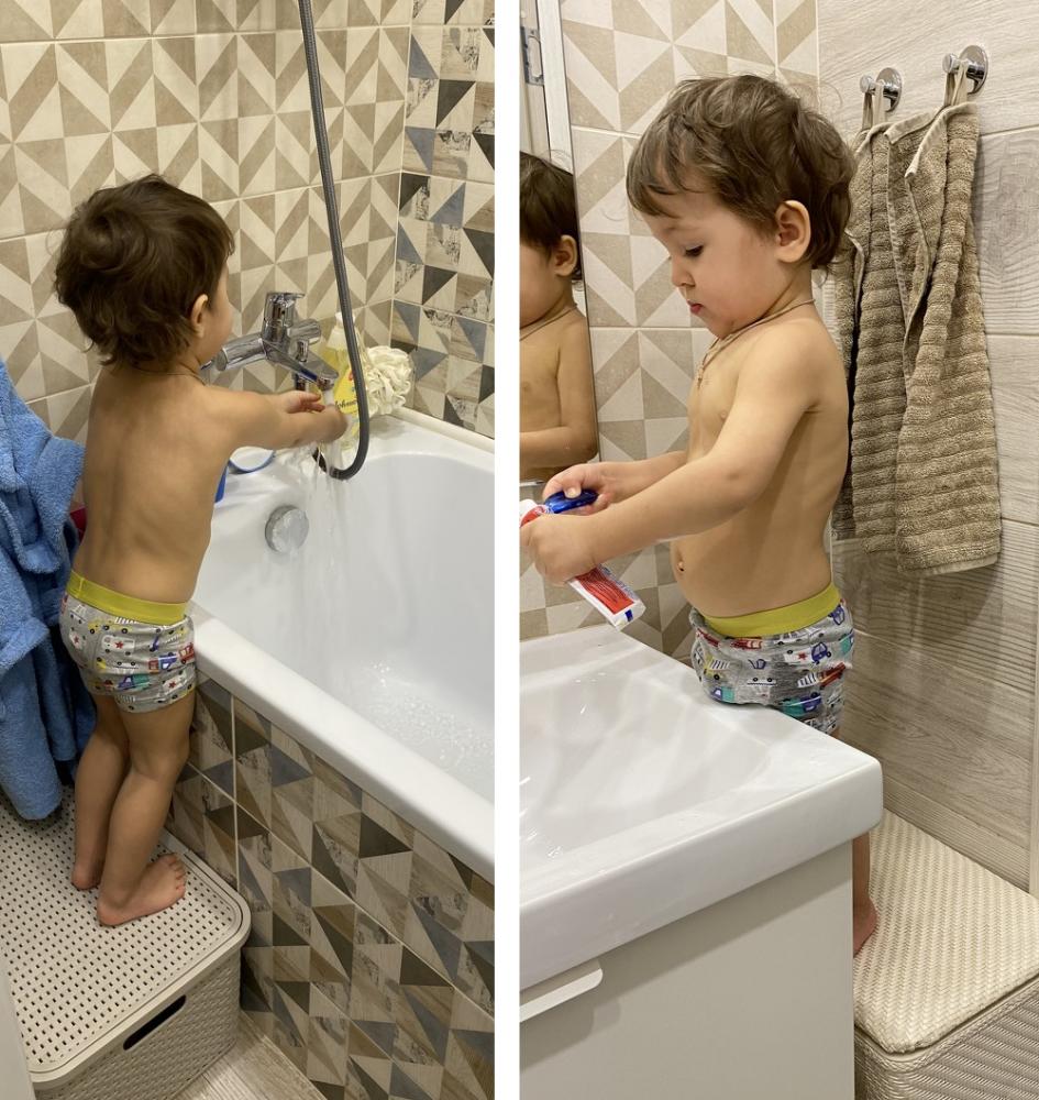 Доступ ребёнка к раковине