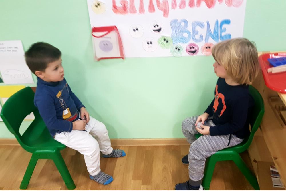 дети разрешают конфликт