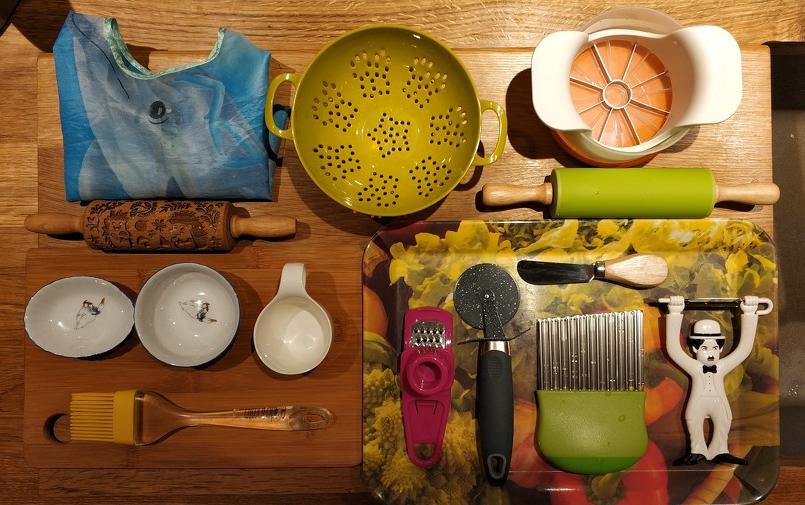 Кухонные инструменты ребёнка