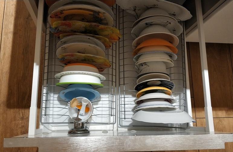 Полки ребёнка на кухне
