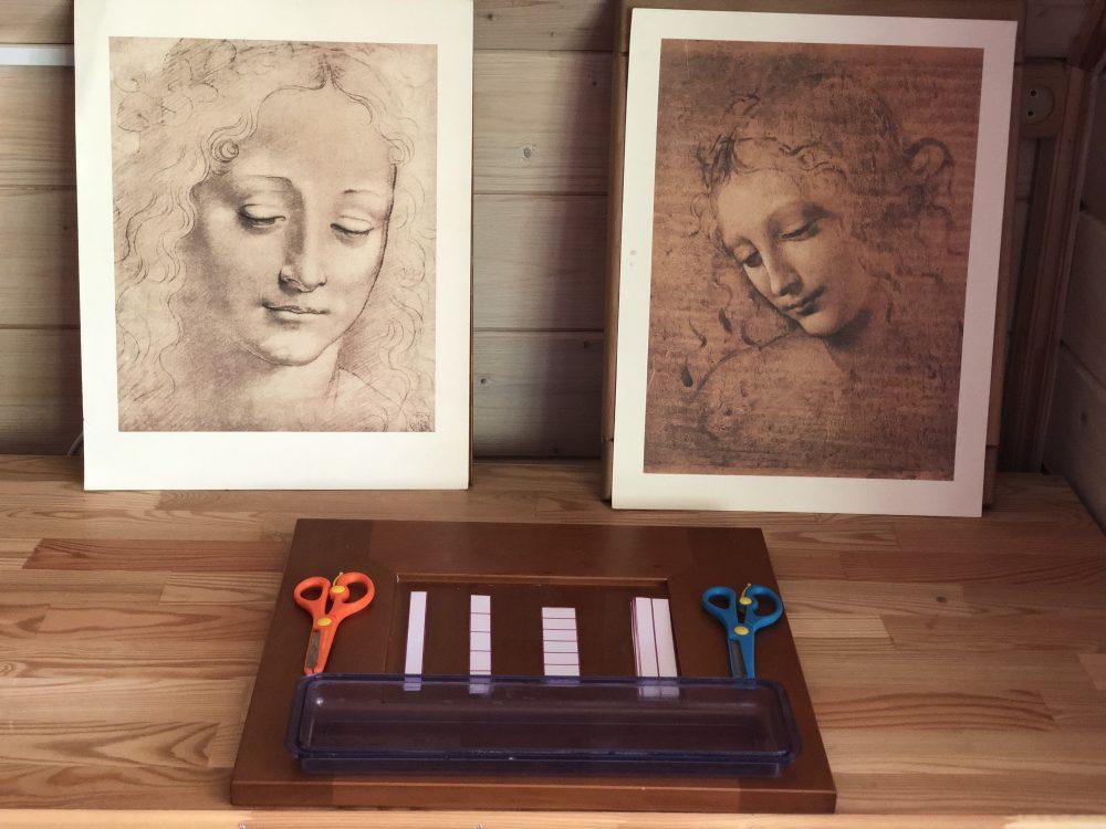 Набор для нарезания и репродукции картин