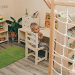 Как организовать пространство дома для детей разного возраста