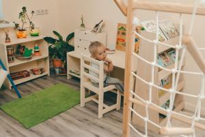 Комната для детей разного возраста