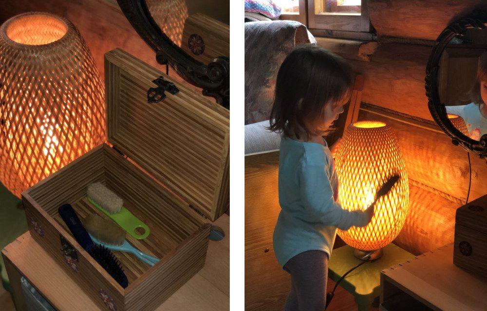Детский набор для расчёсывания