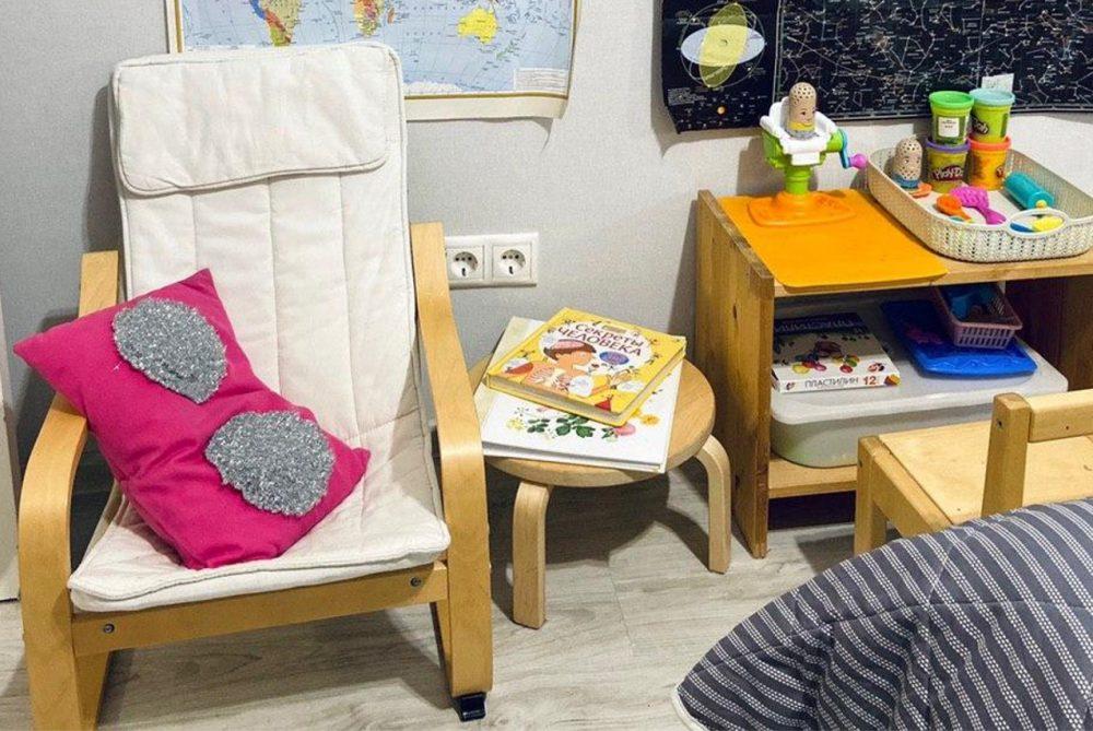 развитие ребёнка в маленькой квартире