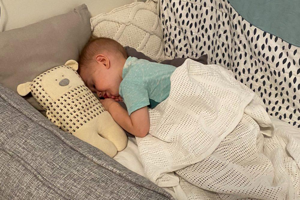 самостоятельное засыпание ребёнка