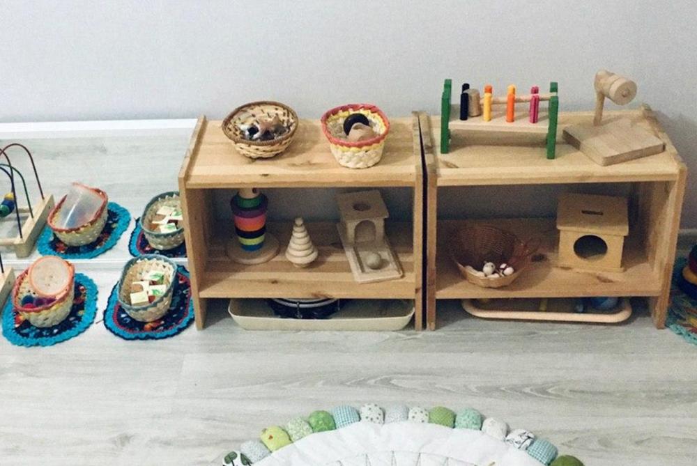 условия для развития ребёнка в маленькой квартире