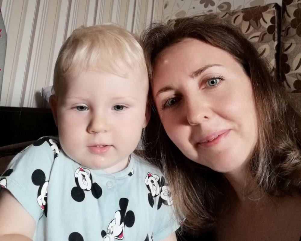 Виктория с сыном