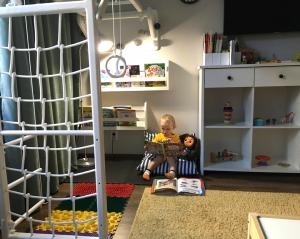 игровая зона для развития ребёнка 2 г дома