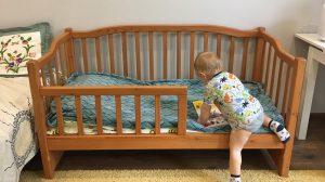 Кровать для двухлетнего ребёнка
