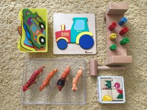 игрушки для развития дома ребёнка 2 лет