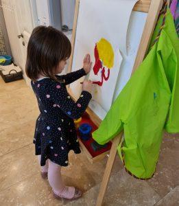 Сензитивный период развития письма: ребёнок рисует