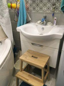 ванная для ребёнка в 2 года