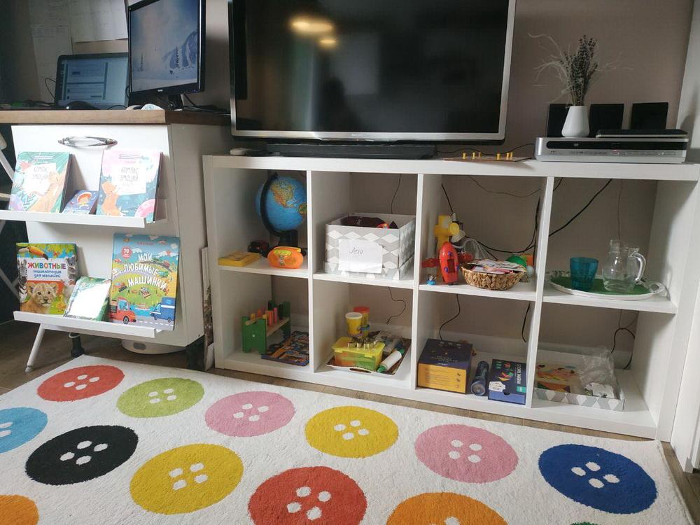 Порядок в детской комнате с развивающими занятиями