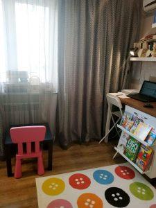 Зона для чтения в детской комнате