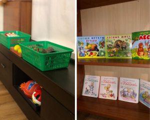 игрушки и книги для ребёнка в год