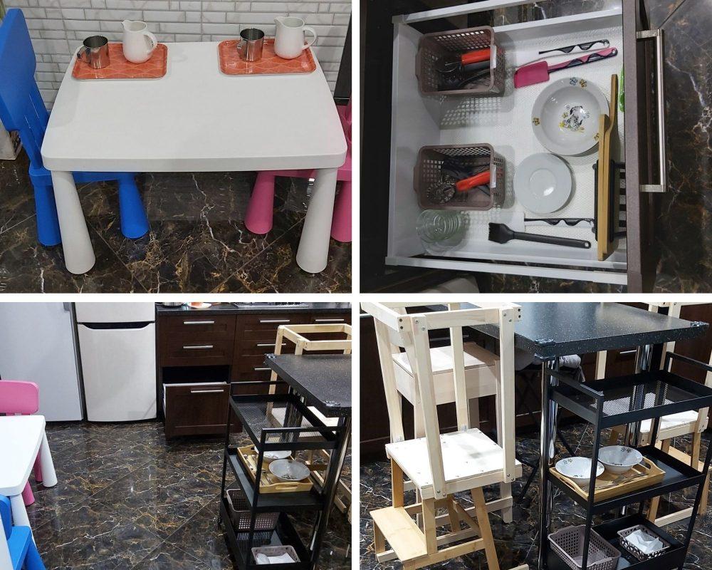 развивающее пространство на кухне