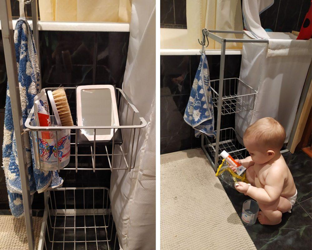 Уход за собой в развитии ребёнка 1 год