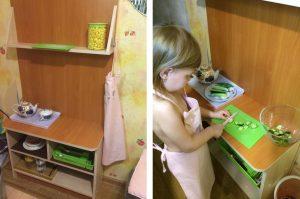 Кухня для ребёнка Екатерины Романовой