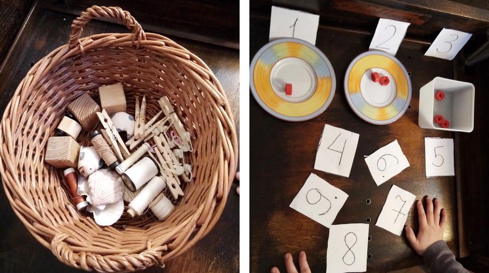 Математический набор для ребенка