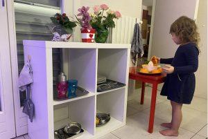 Кухня для ребёнка по Монтессори